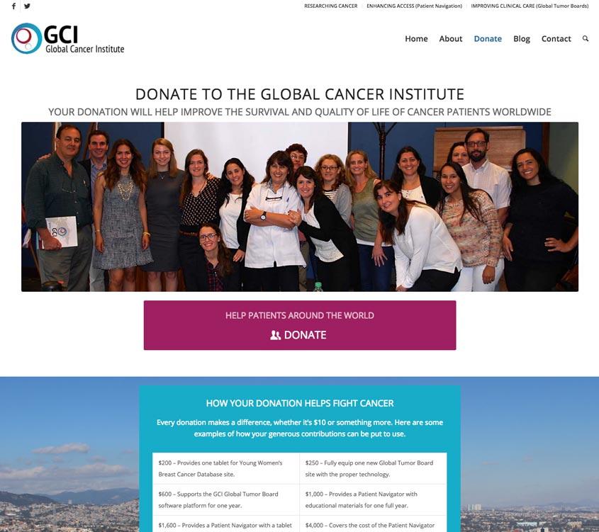 Global Cancer Institute Donate