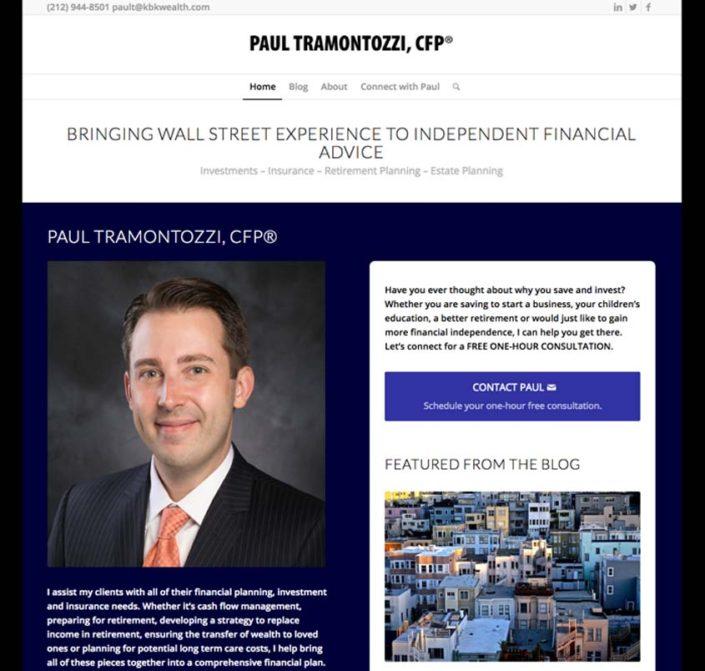 Paul Tramontozzi